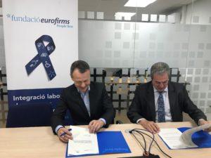 Acuerdo entre Fundación Eurofirms y Gesocín Mediación social
